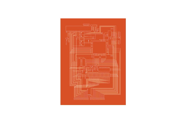 Computer Schematic Print Series, Apple I