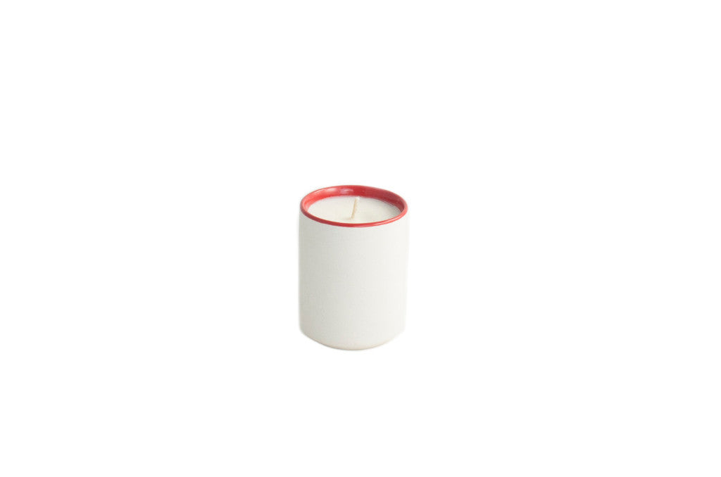 3.5oz Sage + Pomegranate Candle Red