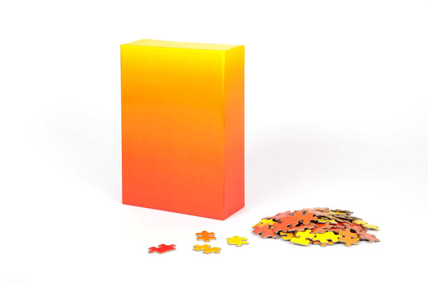 Gradient Puzzle (red/yellow)