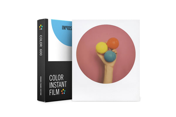 Impossible 600 Color Film Round Frame