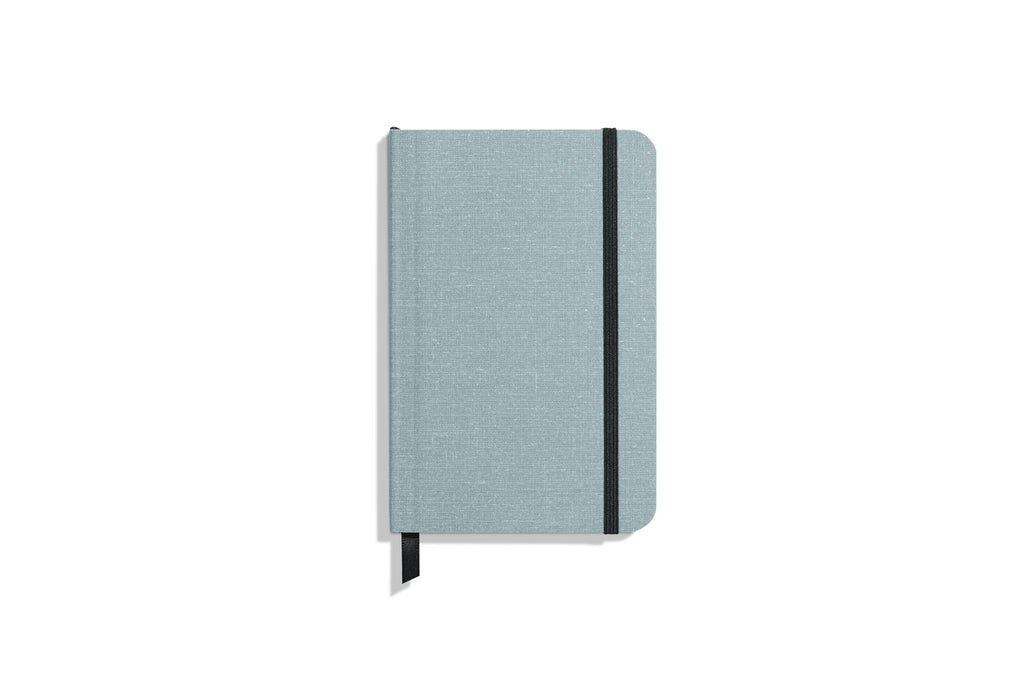 Small Soft Linen Journal Ruled