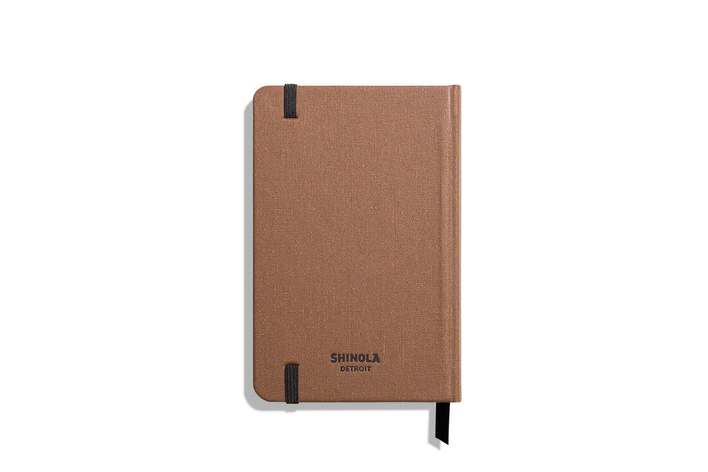 Small Hard Linen Journal Ruled