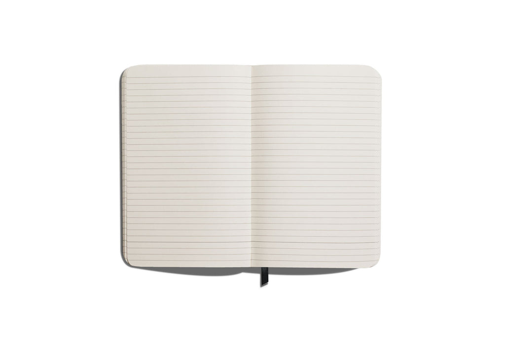 Medium Hard Linen Journal Ruled
