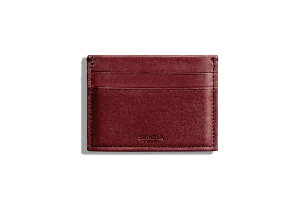 5 Pocket Card Case Burgundy