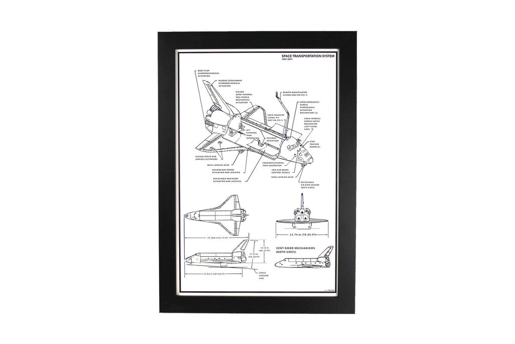 Space Shuttle STS Print