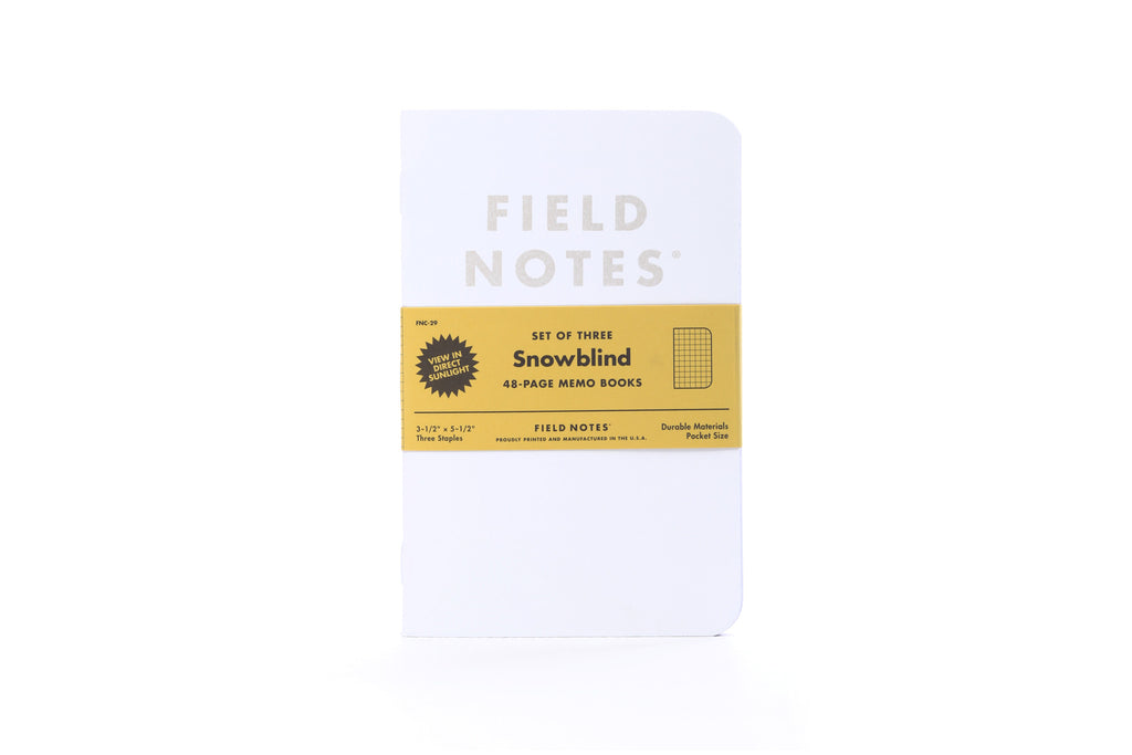 Field Notes - Snowblind Edition