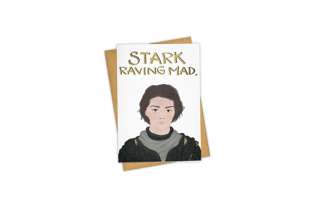 Tay Ham Stark Raving Mad Card