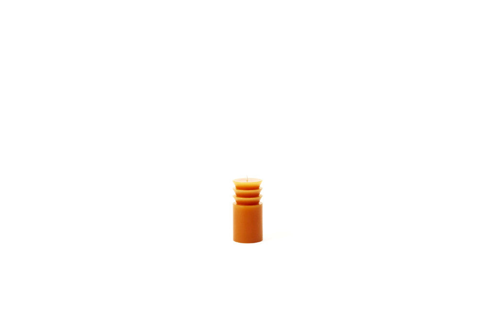 Totem Candle, Small Terracotta