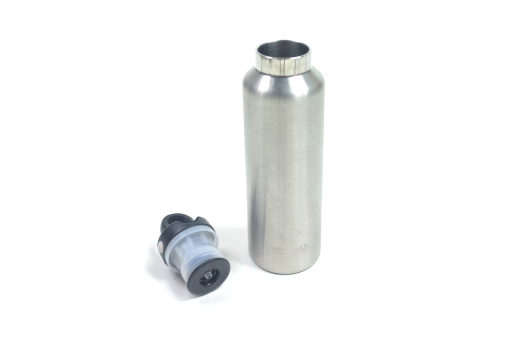 SS Quick Release 20oz Insulated Thermos Silver