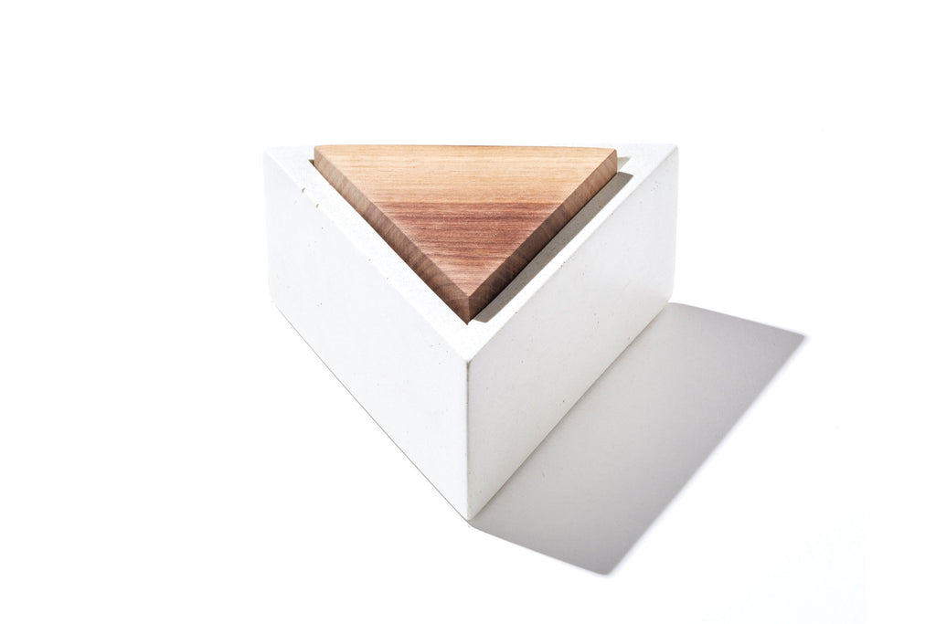 Concrete Triangle Box
