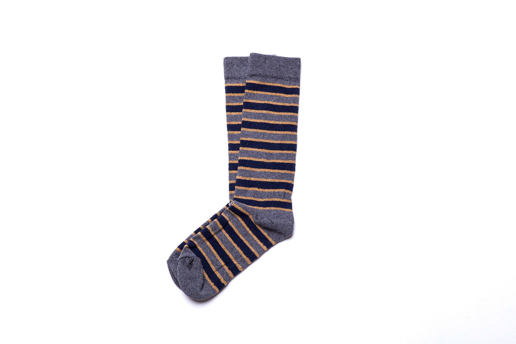 Triple Stripe Sock