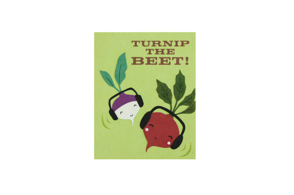 Turnip the Beet Card