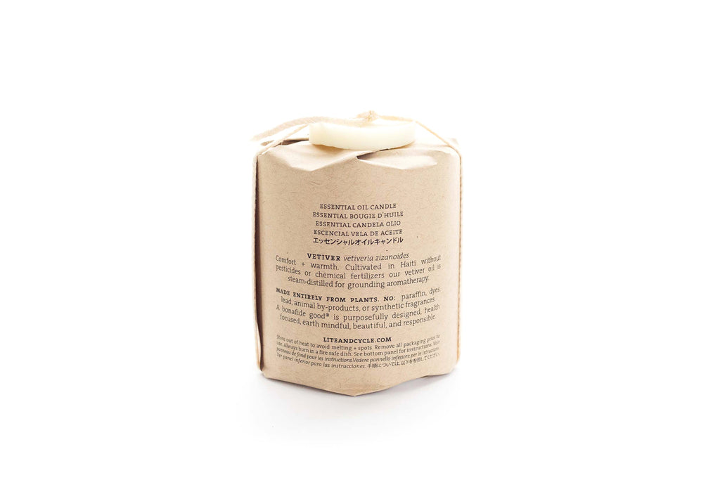 Vetiver Essential Oil Candle