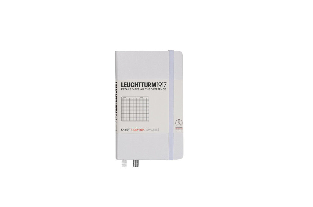 Leuchtturm Pocket Book Squared White