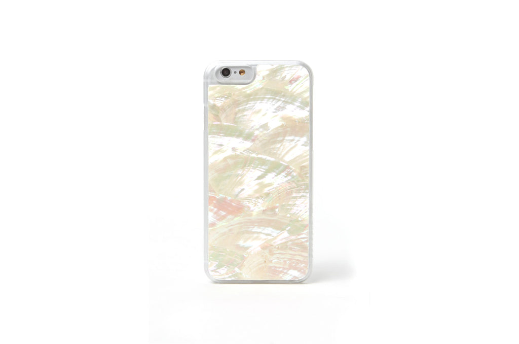 White Abalone Shell iPhone 7 & 6/6s Case