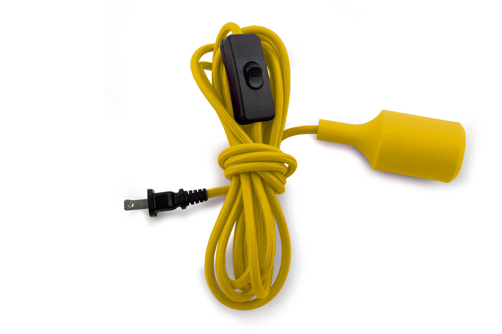 Cord Light Silicone - 12ft Yellow