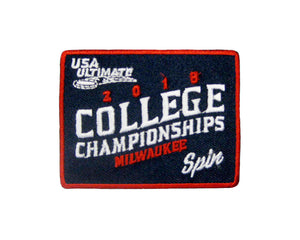 College Championships 2018 Patch
