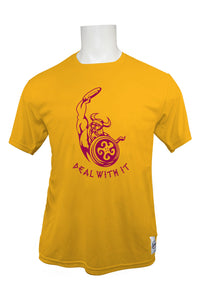 Alice Deal Middle School Short Sleeve Jersey - Gold