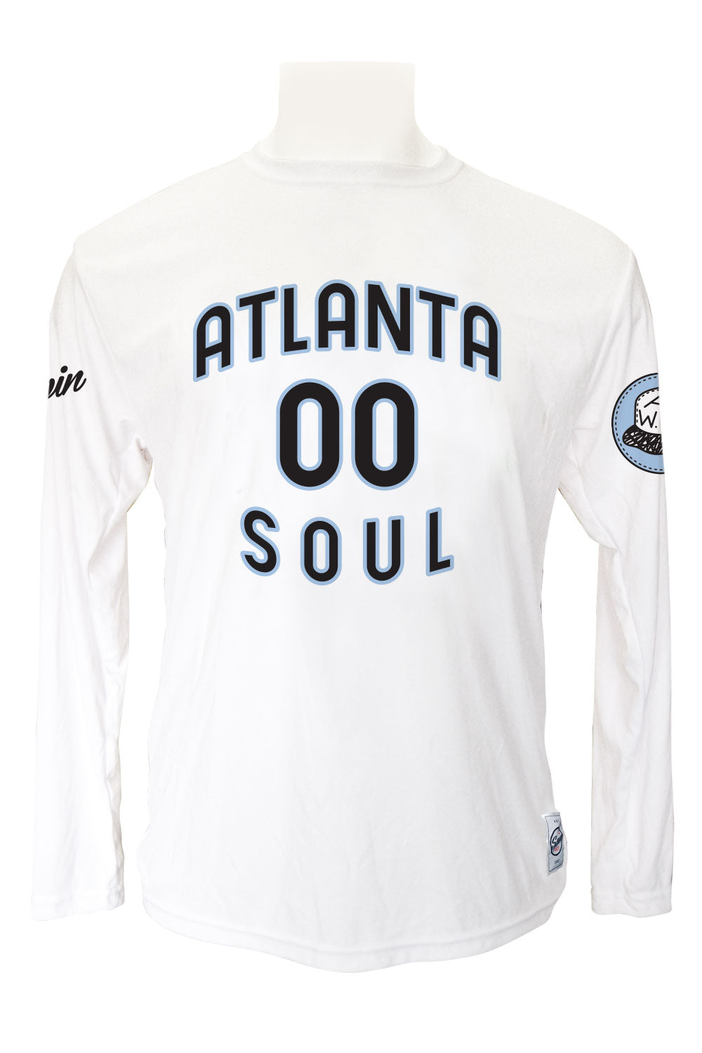 Atlanta Soul Long Sleeve Jersey (White)