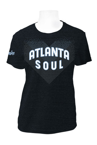 Atlanta Soul Short Sleeve Tri-Blend T (Charcoal)