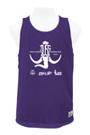 TUSC Reversible Tank (Purple/White)