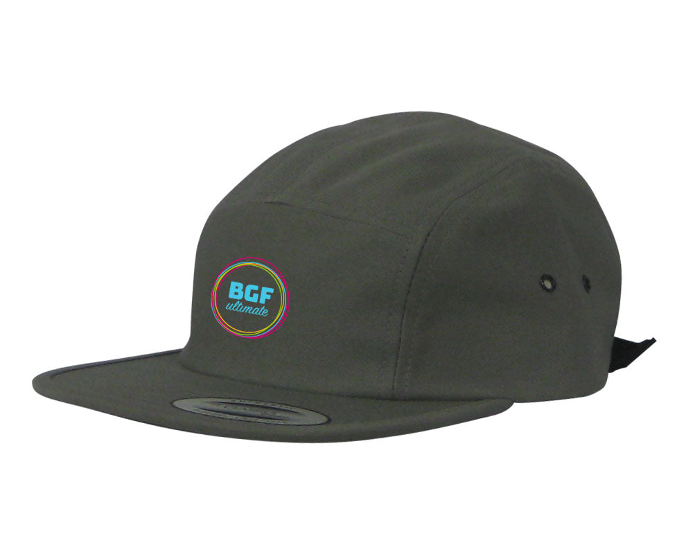 BGF 5 Panel Hat (Steel Grey)