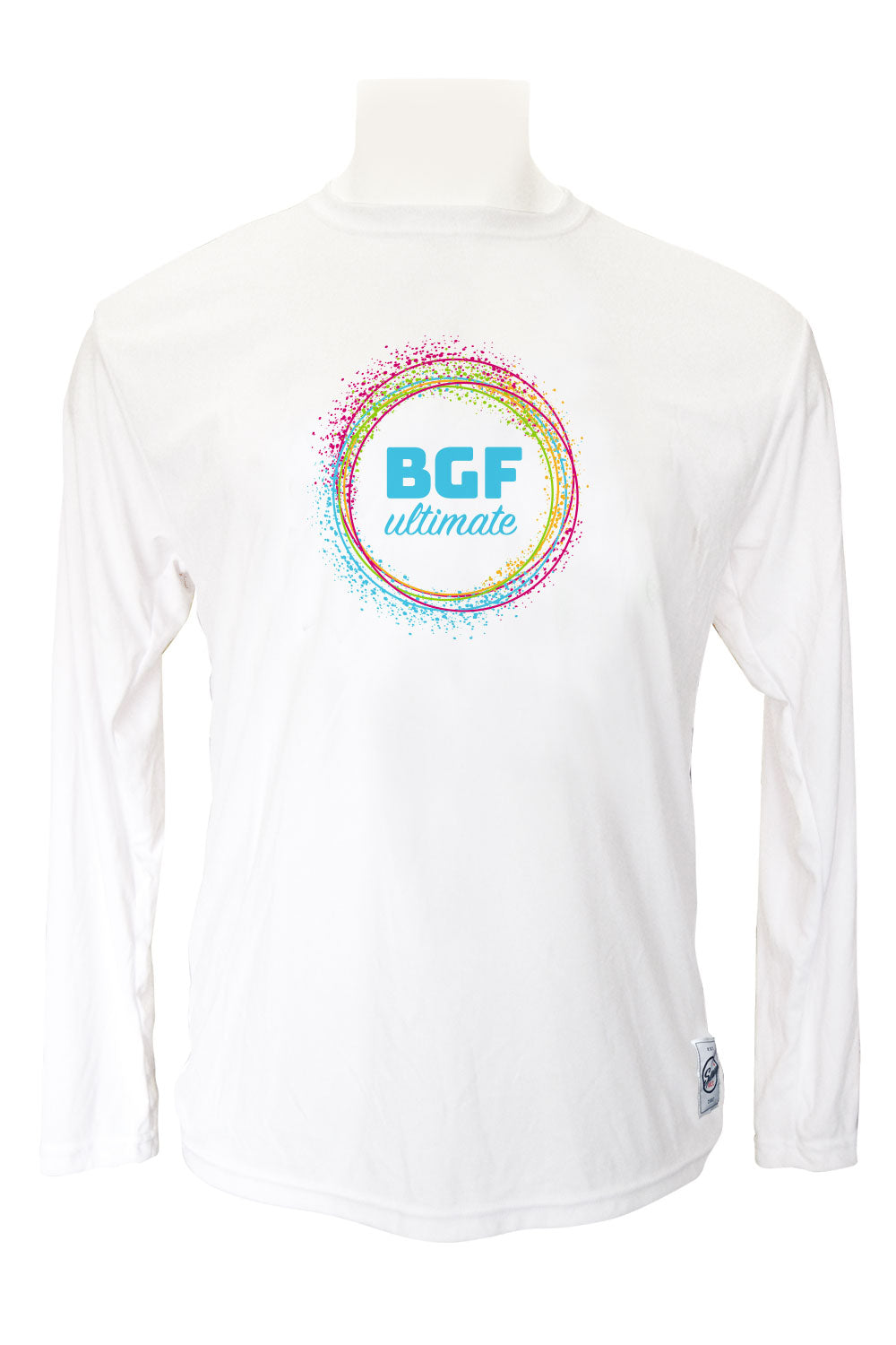 BGF Long Sleeve Jersey (White)