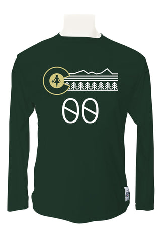 Colorado State Long Sleeve Jersey (Forest Green)