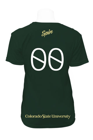 Colorado State Short Sleeve Jersey (Forest Green)