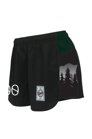 Colorado State Full Sub Racer Shorts
