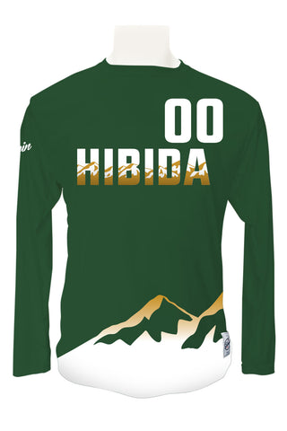 Colorado State Hibida Ultimate Full Sub Long Sleeve Jersey WITH Numbers