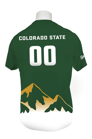 Colorado State Hibida Ultimate Full Sub Short Sleeve Jersey WITH Numbers