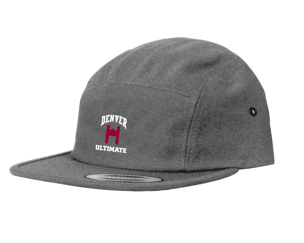 Denver Hype 5 Panel Hat (Steel Grey)