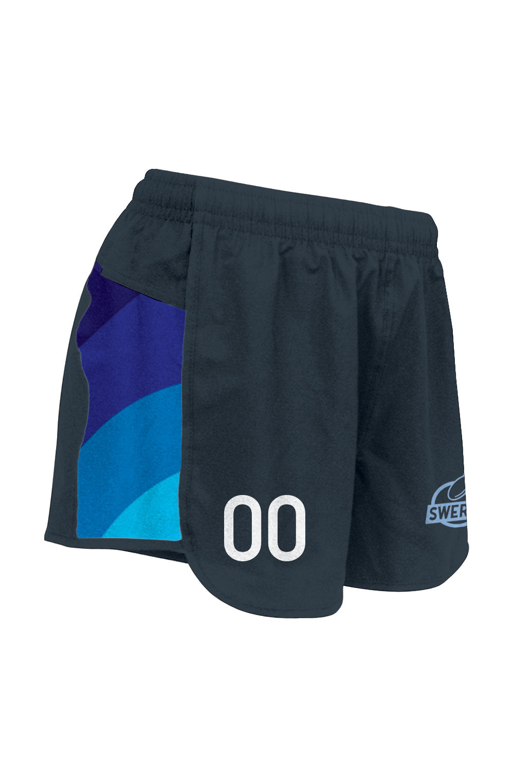 Duke Swerve Full Sub Racer Shorts