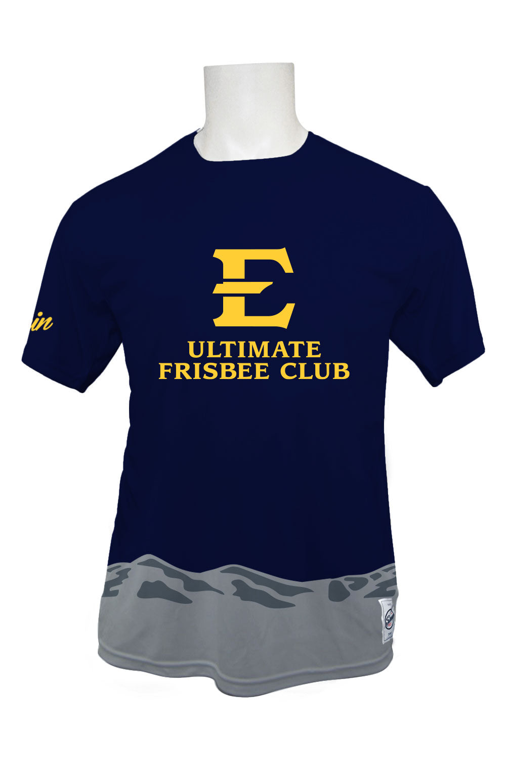 ETSU Full Sub Short Sleeve Jersey (Dark)