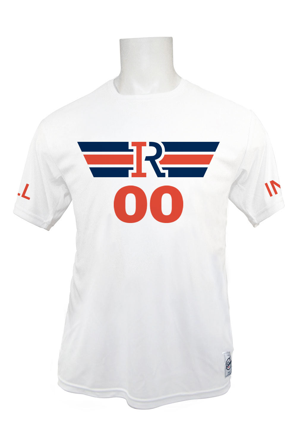 Illinois Rise Short Sleeve Jersey (White)