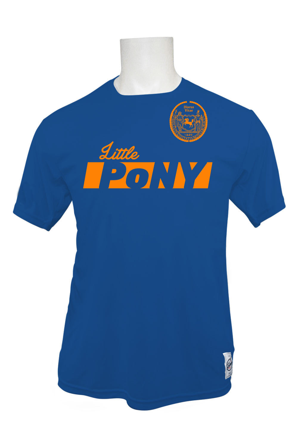 Little PoNY Short Sleeve Jersey (Royal)