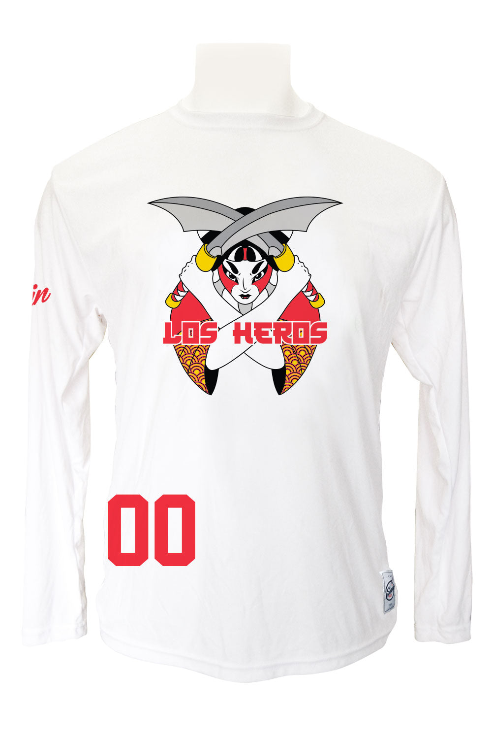 Los Heros Long Sleeve (White)