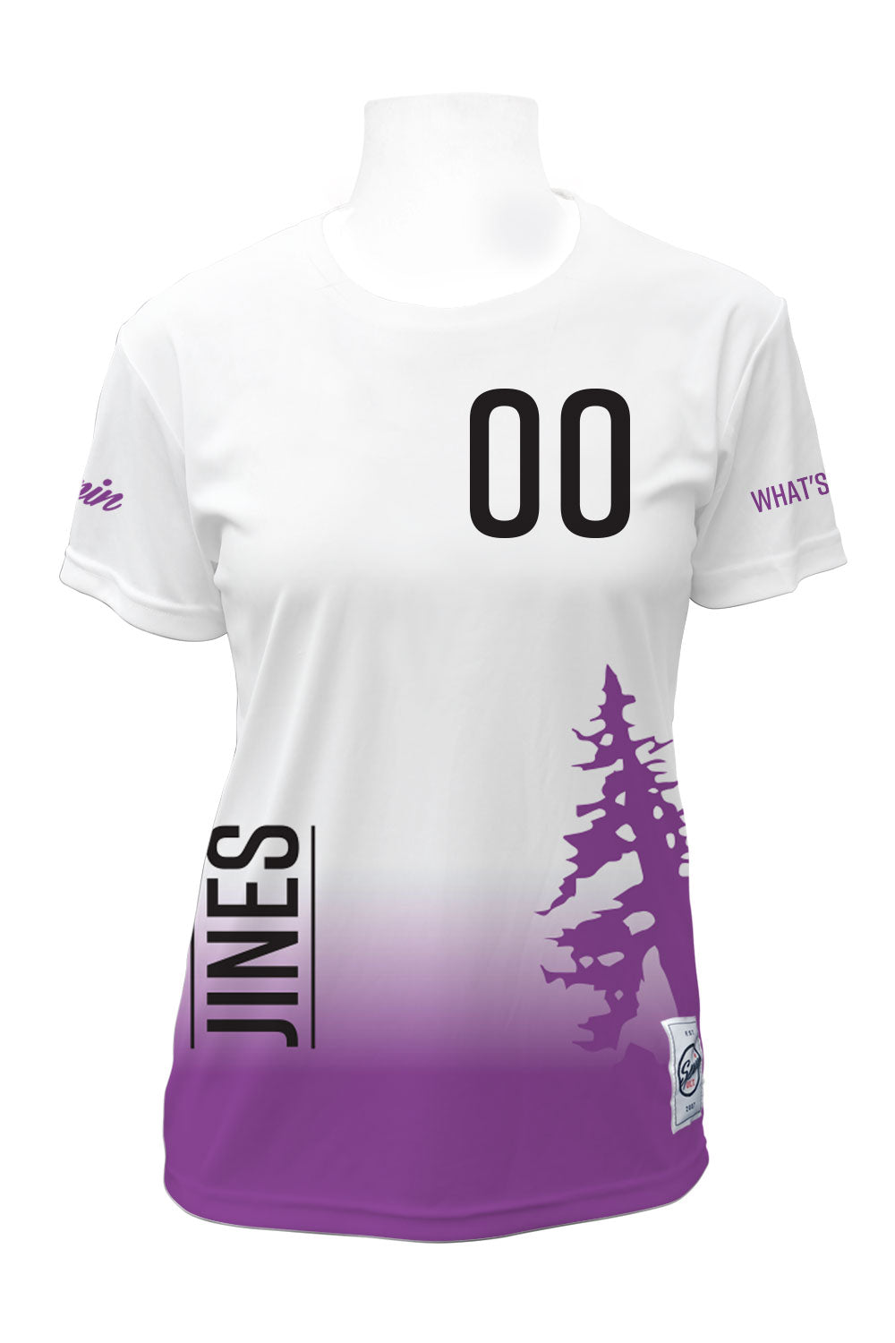 Jines in the Pines Full Sub Short Sleeve Jersey