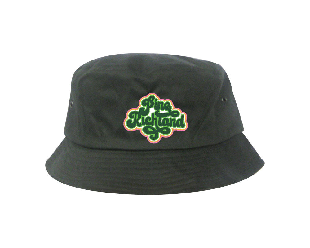 Pine Richland Bucket Hat (Charcoal)