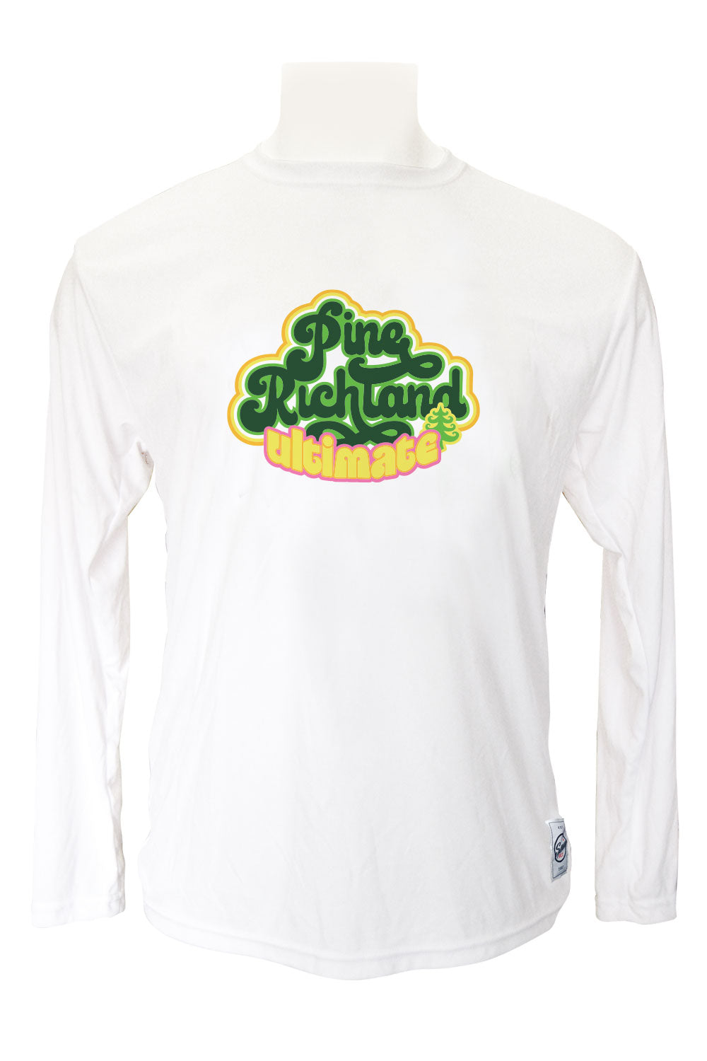 Pine Richland Long Sleeve Jersey (White)