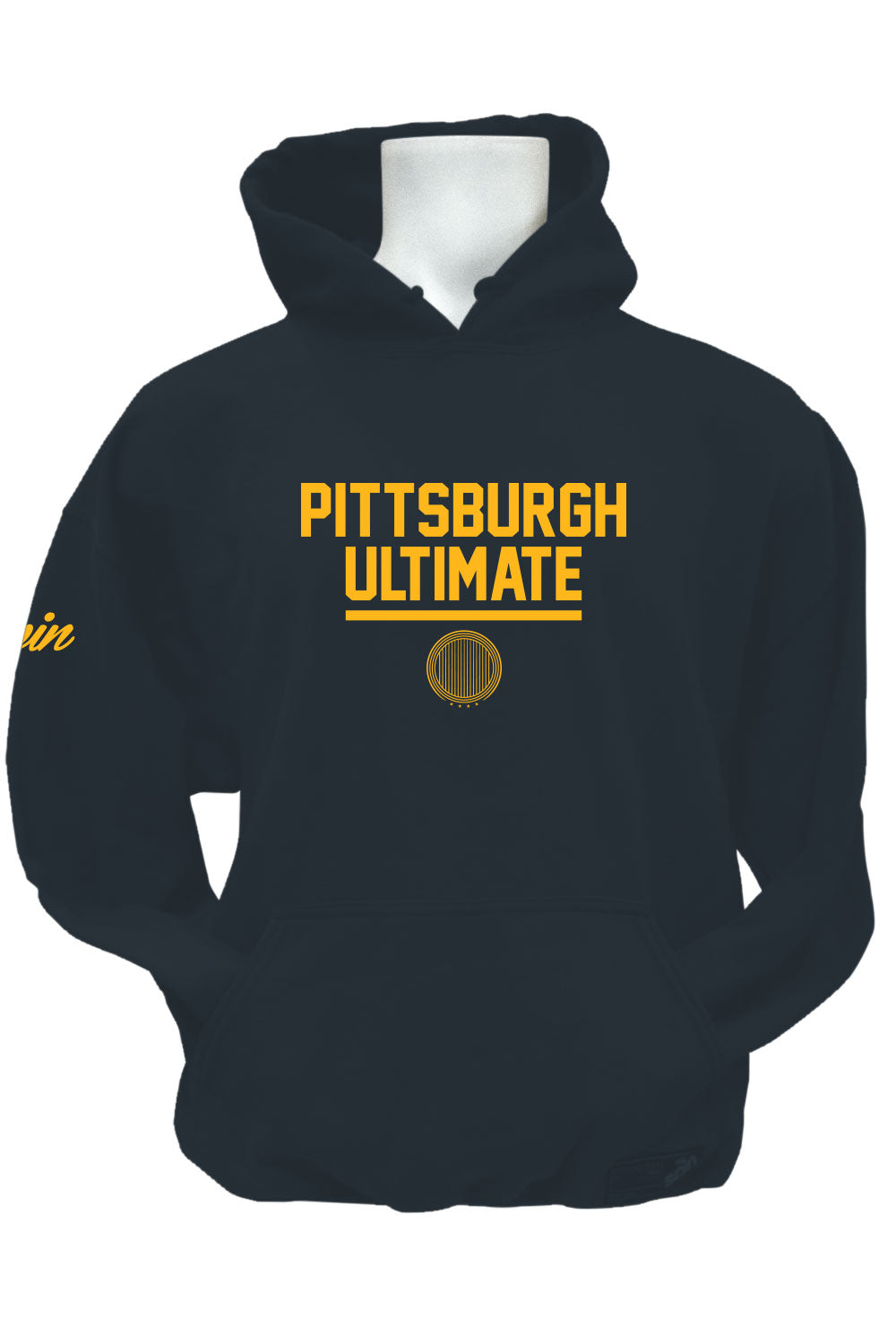 Pittsburgh Ultimate Fleece Hoodie (Charcoal)