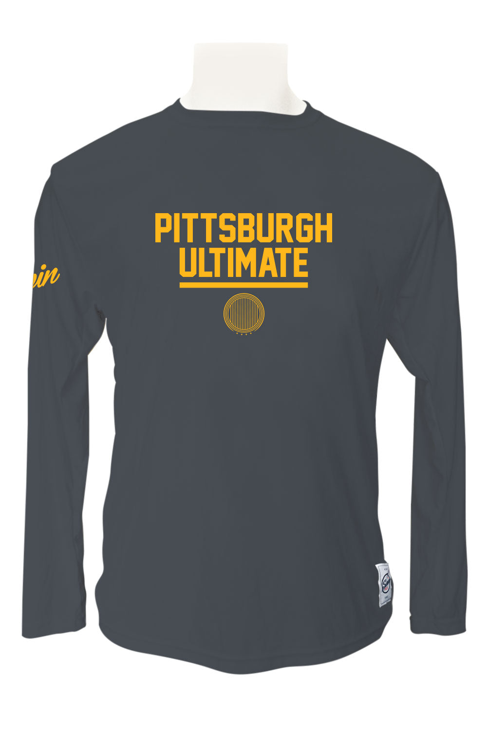 Pittsburgh Ultimate Long Sleeve Jersey (Charcoal)