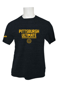 Pittsburgh Ultimate Tri Blend T (Charcoal)