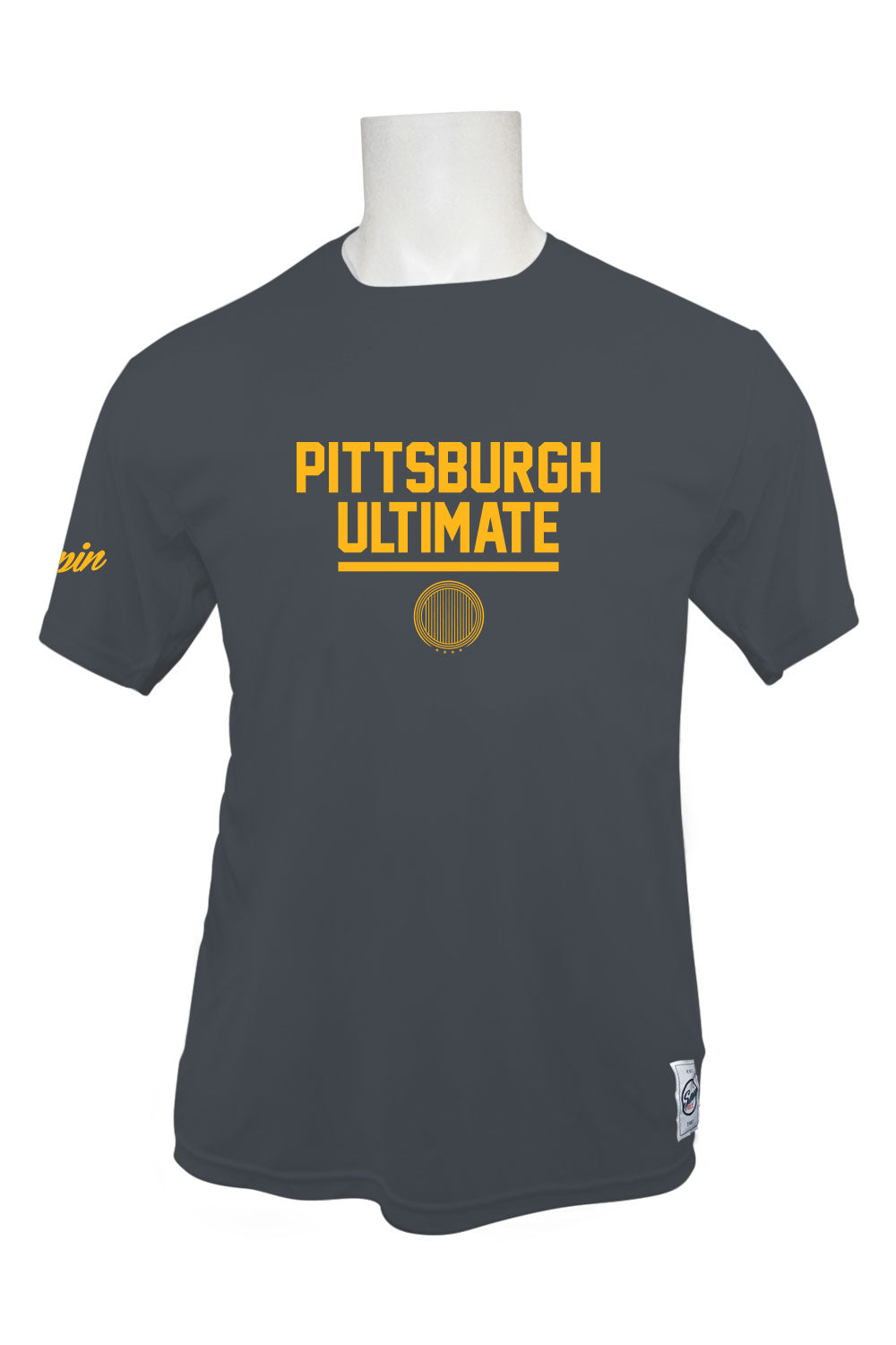 Pittsburgh Ultimate Short Sleeve Jersey (Charcoal)