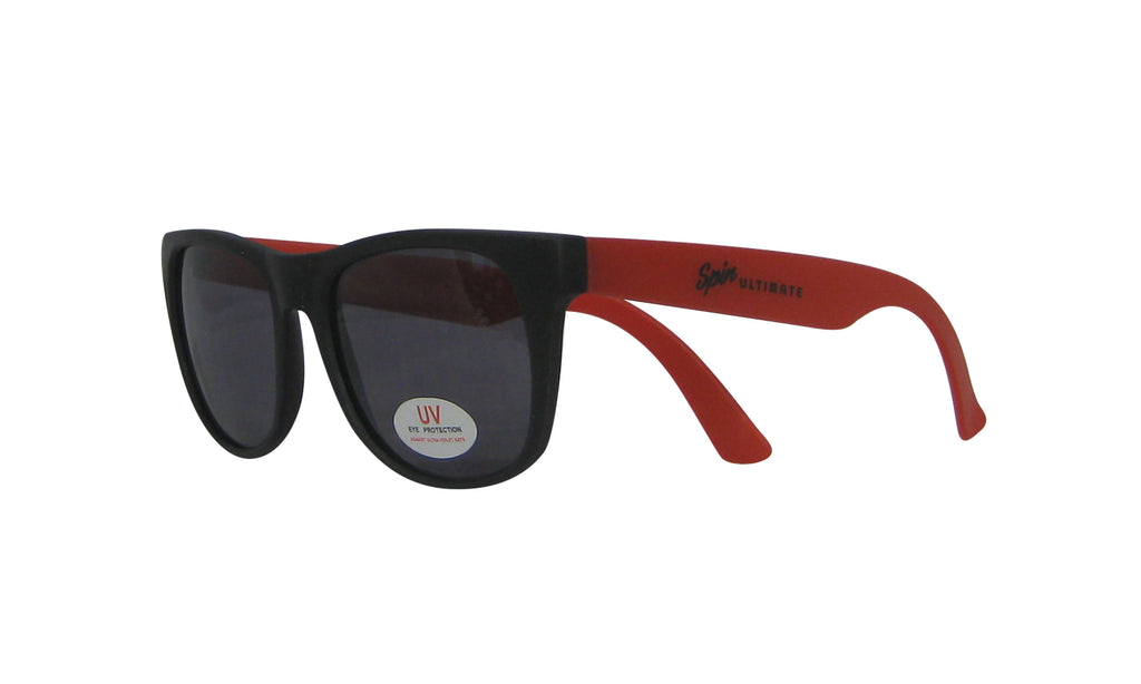Spin Sunglasses (Red/Black)