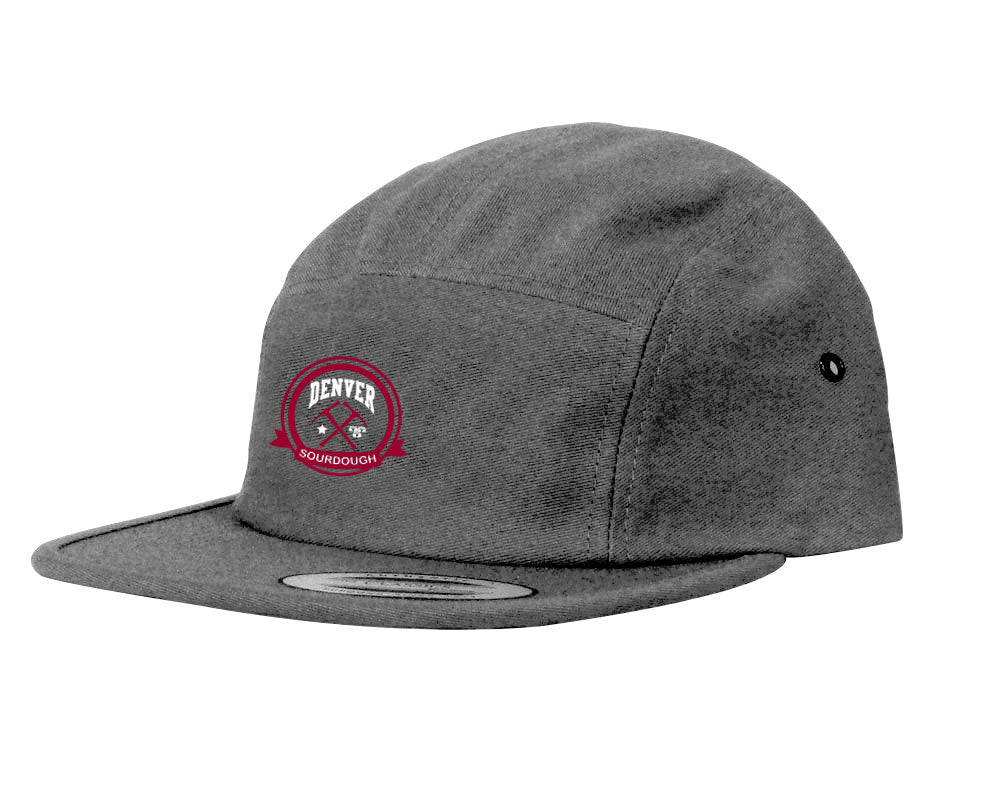 University of Denver Sourdough 5 Panel Hat (Steel Grey)