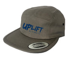 Uplift Ultimate 5 Panel Hat (Steel Grey)