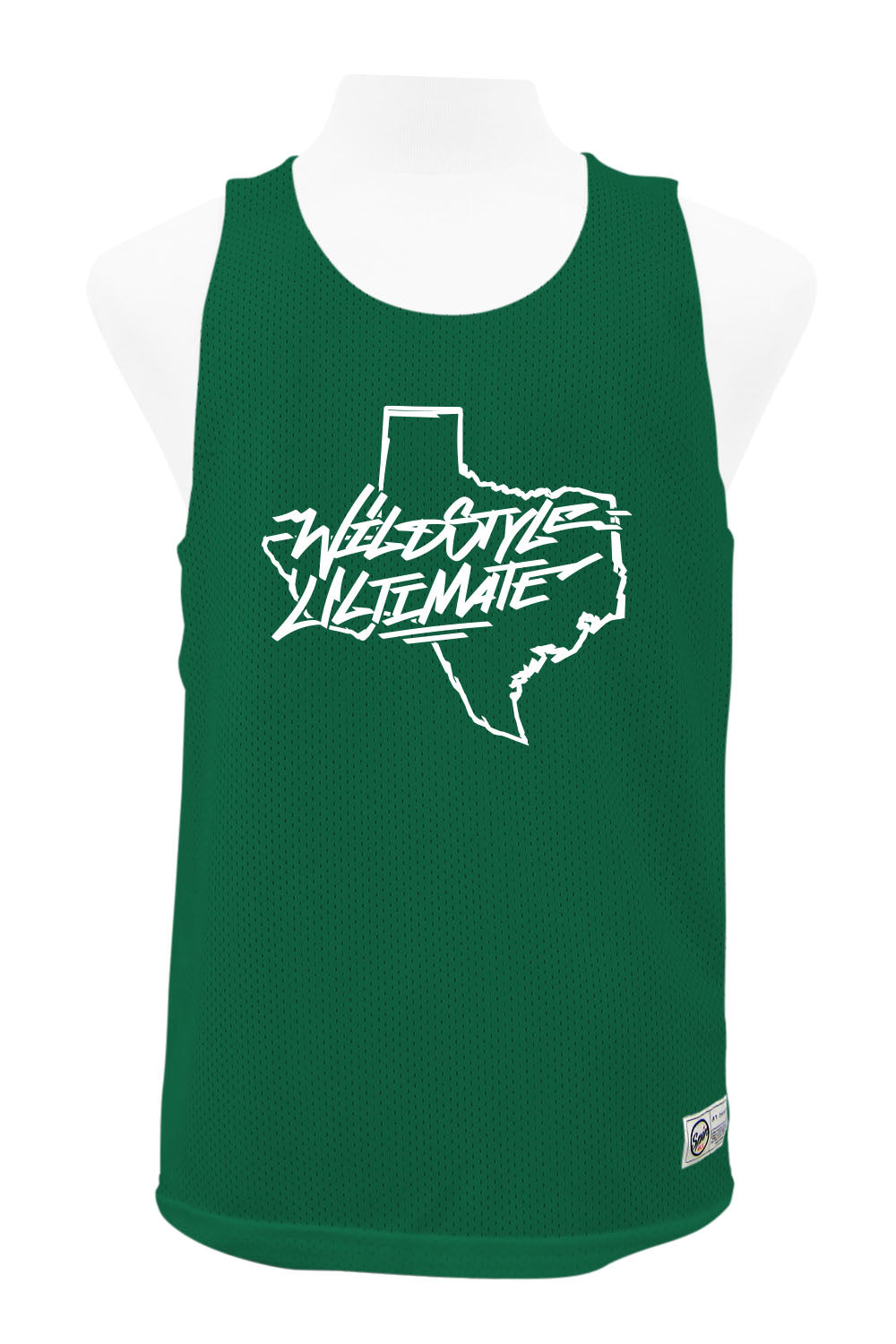 Wildstyle Green/White Reversible Tank
