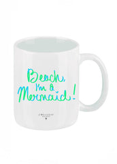 Beach I'm a Mermaid Coffee Mug